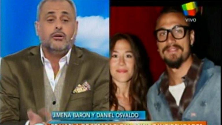 En Intrusos hablaron sobre Lucía Nini, la mujer a la que relacionaron con Daniel Osvaldo