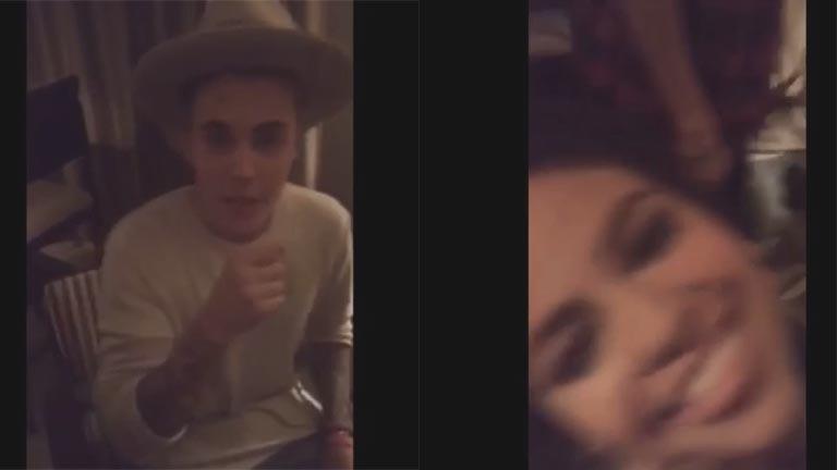 Justin Bieber y Selena Gómez: juntos en un video que revolucionó las redes sociales