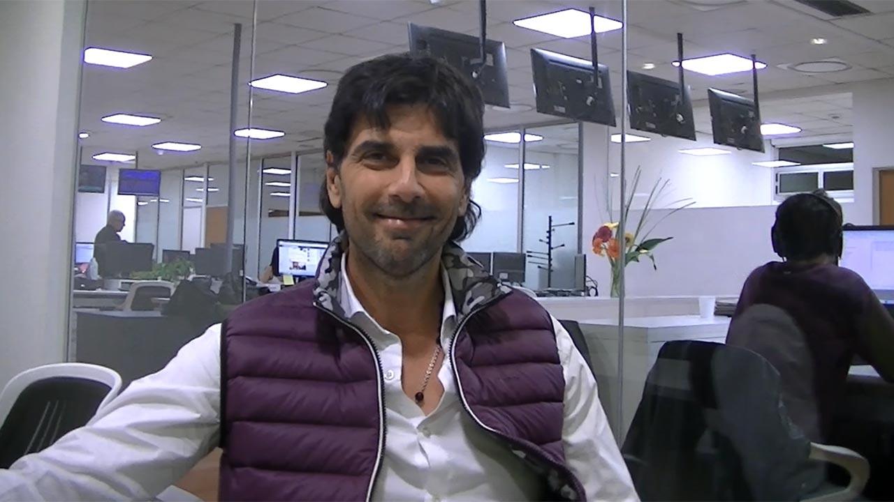 Juan Darthés, mano a mano con Ciudad.com: