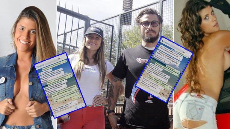 Difunden supuesto chat de WhatsApp entre Daniel Osvaldo y Florencia Zaccanti en El Diario de Mariana