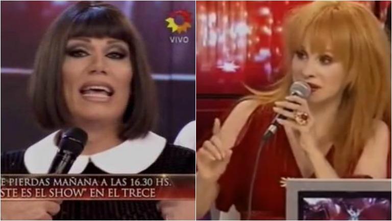 El cruce de Florencia de la Ve en ShowMatch contra parte del jurado
