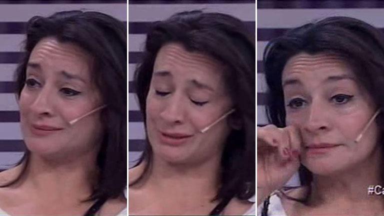 El llanto de Anita Martínez al hablar en Este es el show sobre su relación con el Bicho Gómez