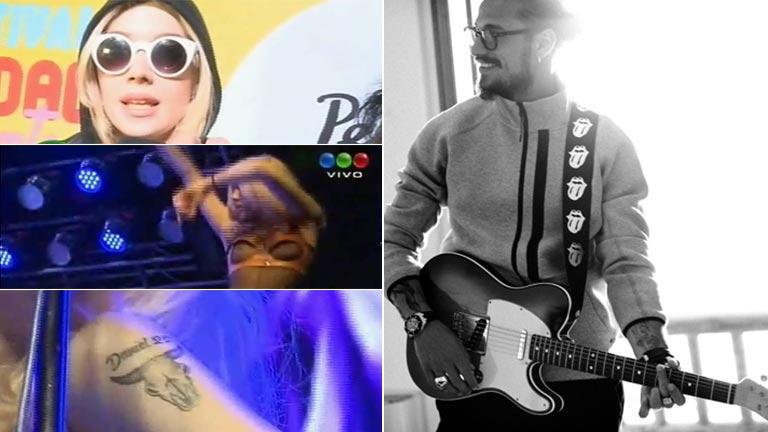 El show de Militta Bora: mostró lolas y habló de Daniel Osvaldo