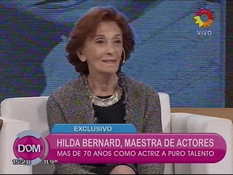 El video de la deliciosa entrevista a Hilda Bernard en el Diario de Mariana