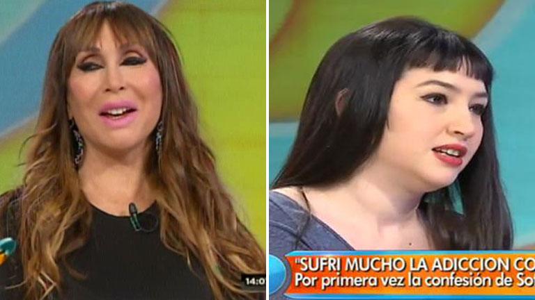 Moria habló de la recuperación de Sofía