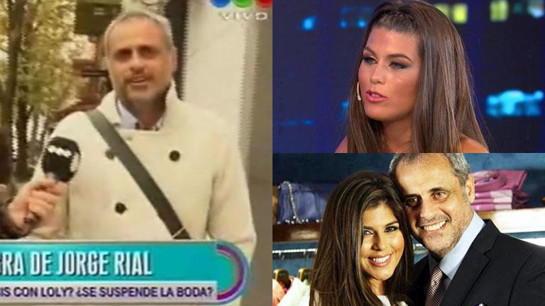 Jorge Rial habló de los rumores de crisis con Mariana Loly Antoniale