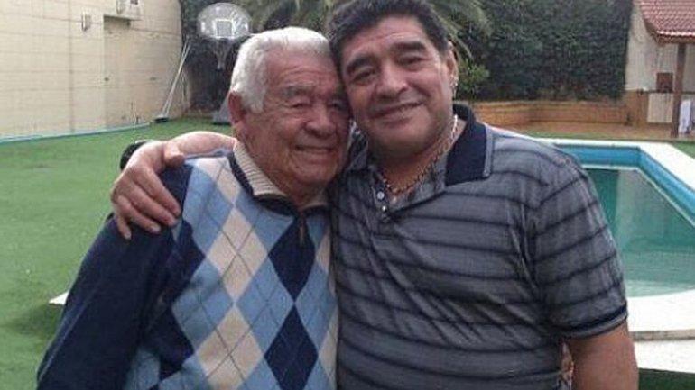 La despedida de Diego Maradona a Don Diego: