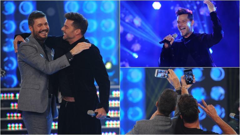 Ricky Martin se presentó en ShowMatch