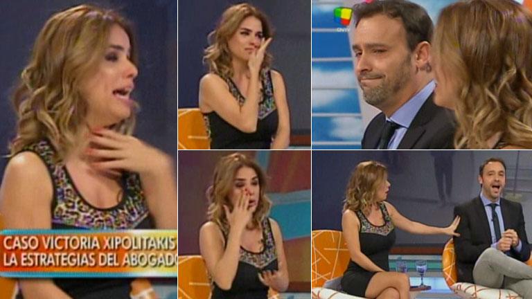 ¡Chicana y llanto en Intrusos! Marina Calabró se ofendió con Pallares y no contuvo la angustia