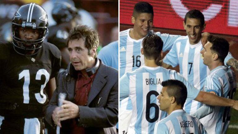 El aliento de Al Pacino, a la Selección como un argentino más