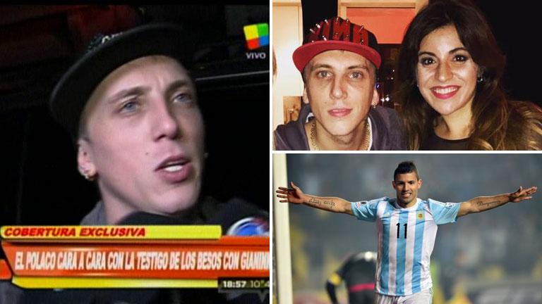 El Polaco aclaró si gritó el gol del Kun Agüero y habló de Gianinna Maradona