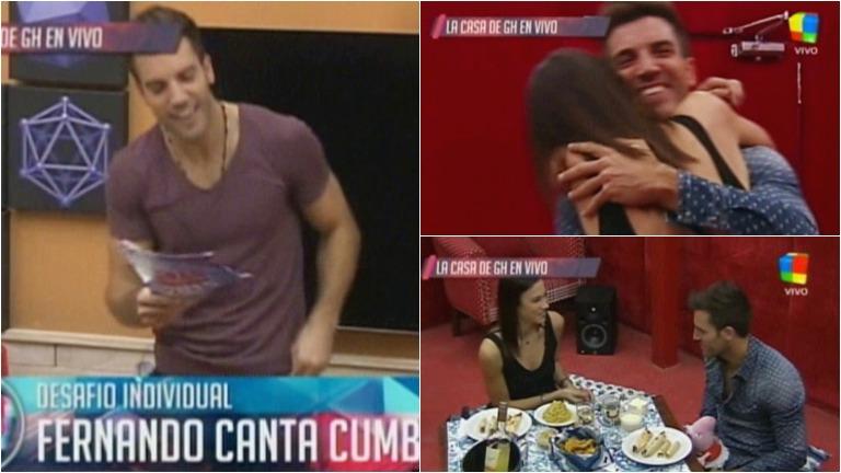 Fernando y su novia se reencuentran en El Cuarto Rojo de Gran Hermano