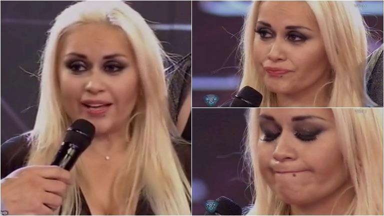 Verónica Ojeda habló en Bailando 2015 del pico de estrés que sufrió