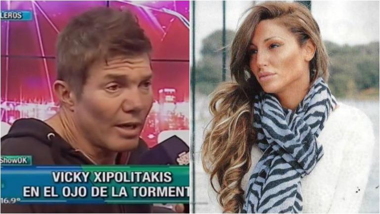 Fernardo Burlando defendió a Vicky Xipolitakis en Este es el show