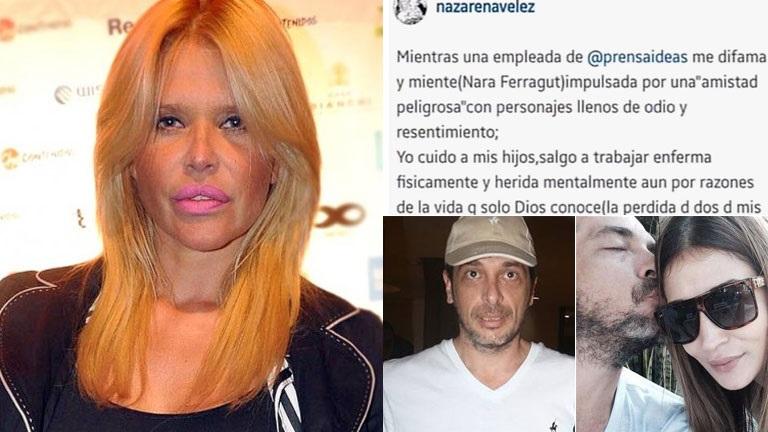 Nazarena Vélez, tras la difusión de su desesperado audio a Cosentino: