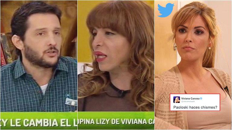 Fuerte cruce de Viviana Canosa a Germán Paoloski en Twitter