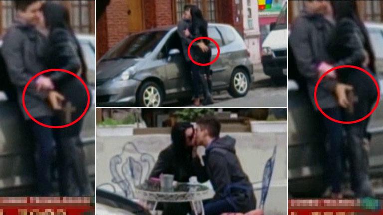 El video de Eloy Rivera y la ex de Mariano de Gran Hermano: besos y caricias hot a plena luz del sol