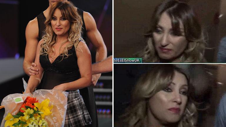 El llanto desconsolado de Marcela Tauro tras ser eliminada de Bailando 2015