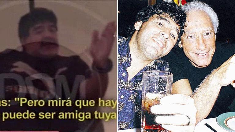 Maradona habló de su abrazo con Coppola: