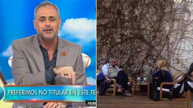 Jorge Rial contó (y bromeó) sobre su salida con Agustina Kämpfer