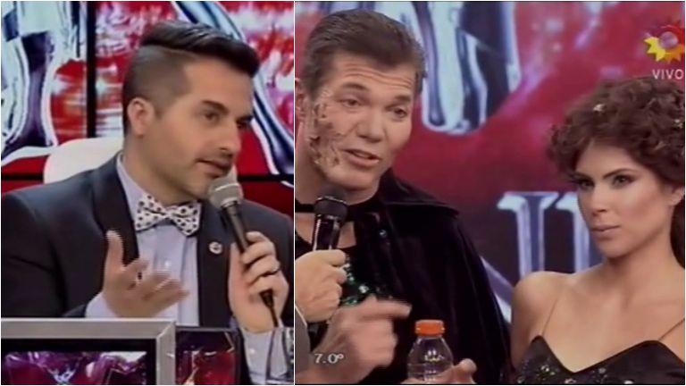 Ángel De Brito a Fernando Burlando en Bailando 2015: