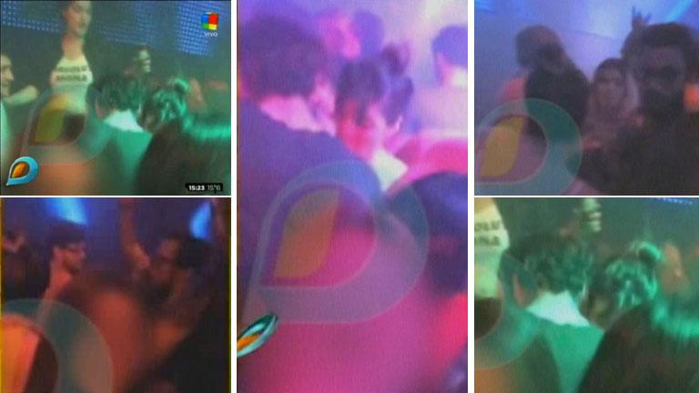 ¿Qué pasa entre Gianinna Maradona y Daniel Osvaldo? El video de la noche en que bailaron apretaditos