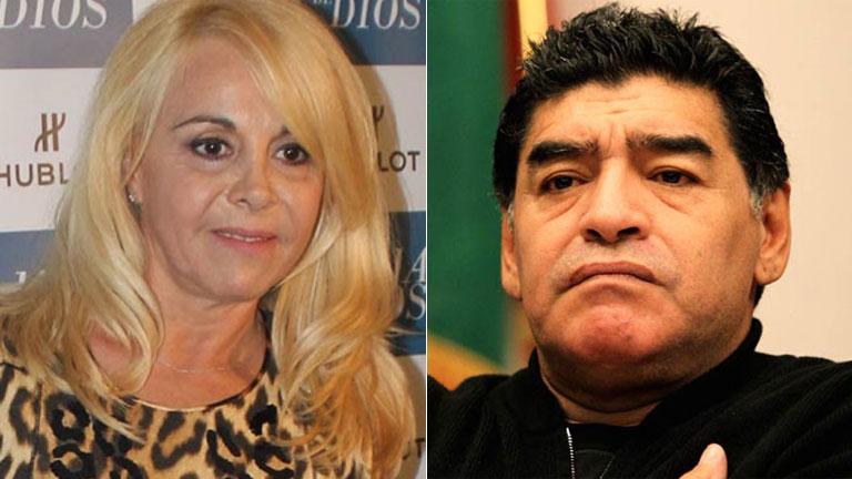 La reunión secreta de Diego Maradona y Claudia Villafañe: gritos, reproches y una fuerte palabra