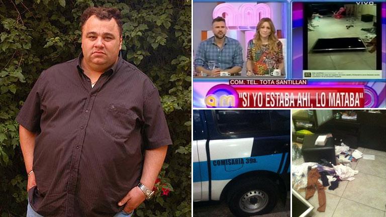 La furia desatada de la Tota Santillán, tras ser víctima de un robo: