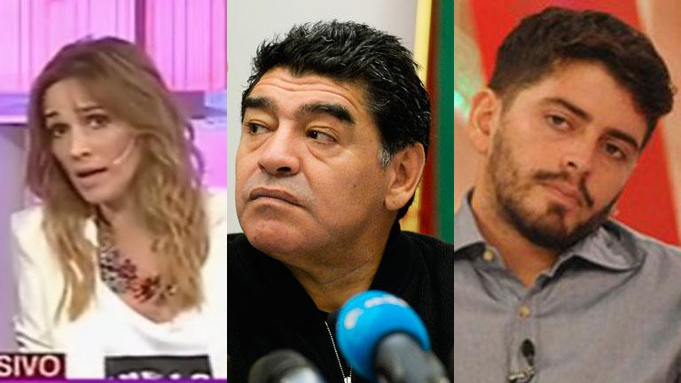 Verónica Lozano, indignada por los dichos de Diego Maradona