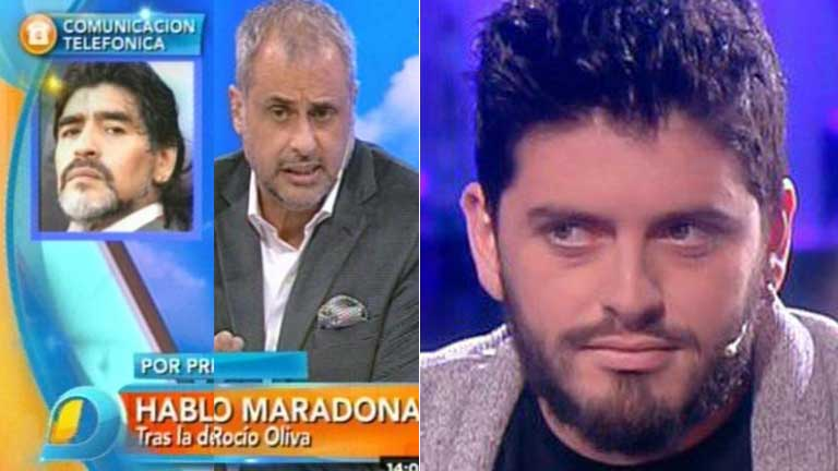 Diego Maradona Junior en Nosotros a la mañana: