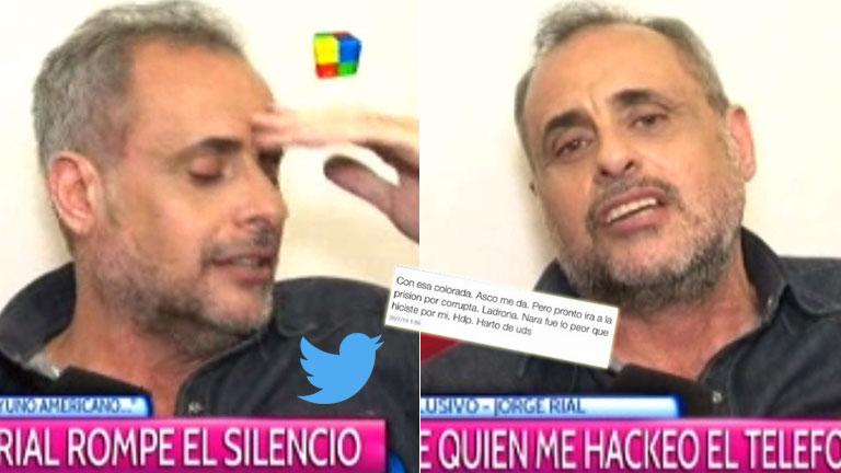 Jorge Rial, tras ser hackeado otra vez: