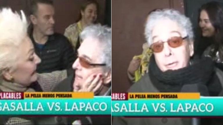 La desubicada y grosera respuesta de Antonio Gasalla cuando le preguntaron por su pelea con Claudia Lapacó