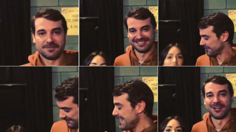 Pedro Alfonso entrevistó a Lali Espósito y bromeó con la estatura de la actriz