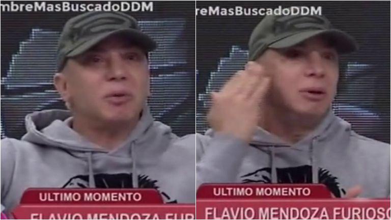 Flavio Mendoza se emociona, después de encarar al supuesto estafador de su hermana