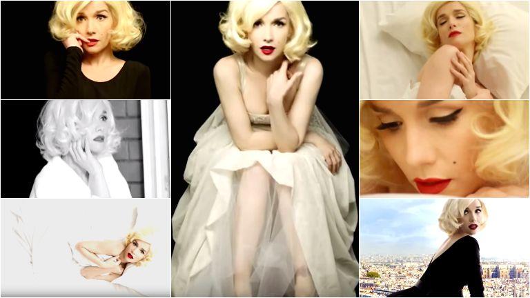 Natalia Oreiro se convirtió en Marilyn Monroe