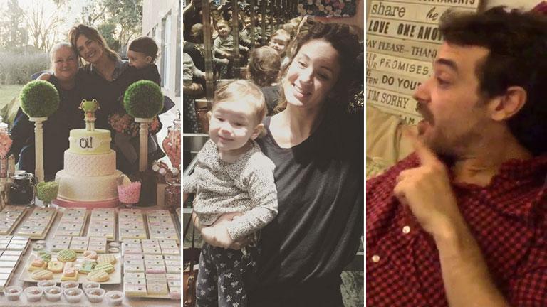 La tierna discusión de Pedro Alfonso con su hija Olivia por qué miraban en la TV