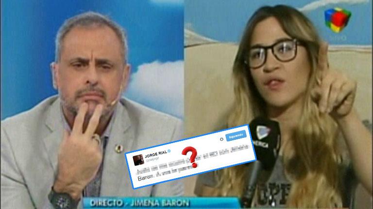 Jimena Barón y un sorpresivo reclamo en vivo a Jorge Rial