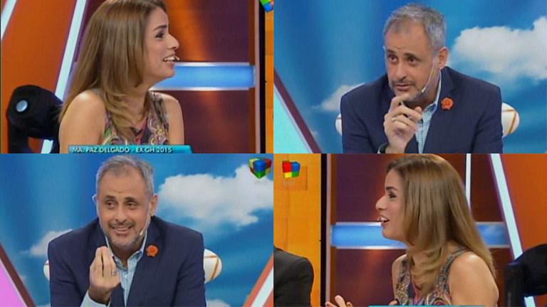 Jorge Rial puso en apuros a Marina Calabró por su no convivencia con su pareja