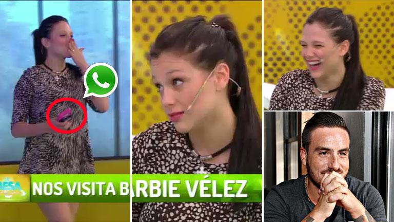 Bárbie Vélez le marcó la cancha a Federico Bal: