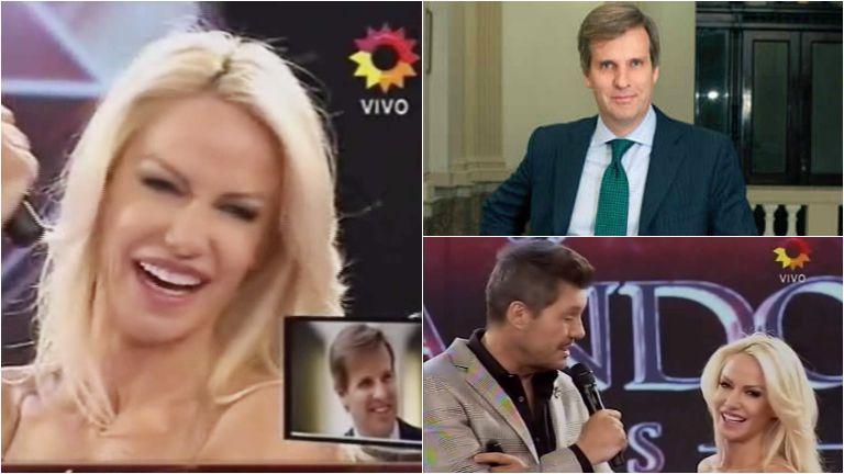 Martín Redrado sorprendió en ShowMatch a Luciana Salazar