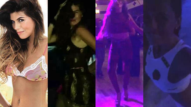 Loly Antoniale, sexy bailando en Twitter