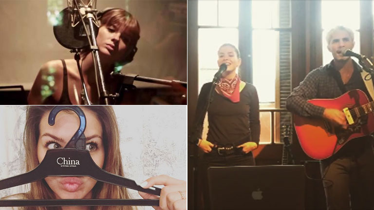 El regreso de China Suárez a la música: prepara un disco solista