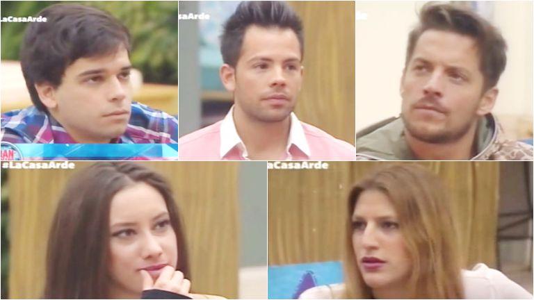 Matías, Mariano, Francisco, Belén y Marian están nominados en Gran Hermano 2015