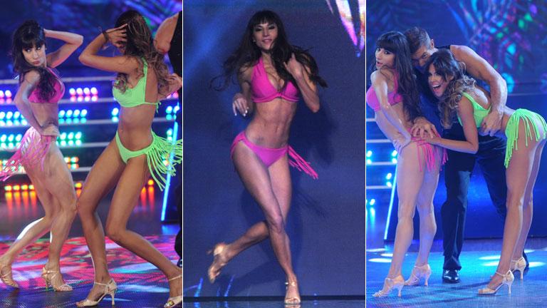 Barby Franco y Magui Bravi desplegaron su belleza en ShowMatch