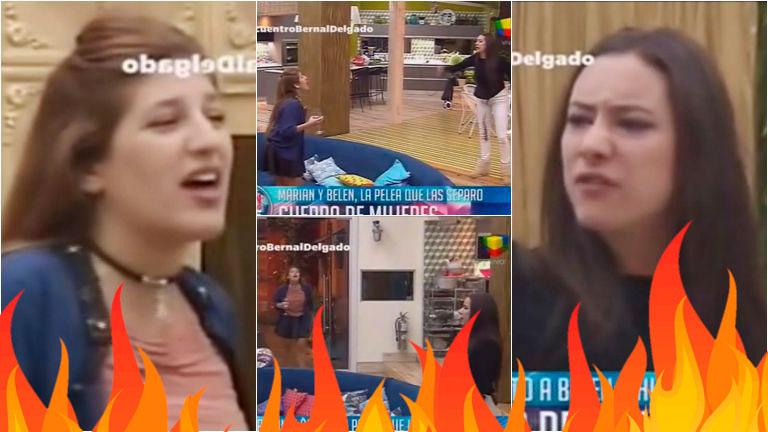 La terrible pelea de Marian y Belén en Gran Hermano