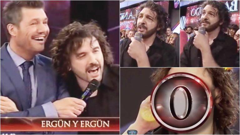 Ergün tuvo a su imitador en ShowMatch