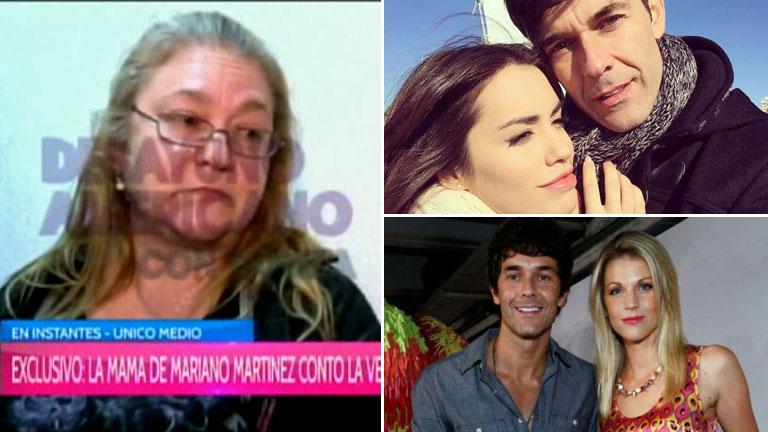 Habló la mamá de Mariano Martínez del rumor de romance con Lali Espósito:
