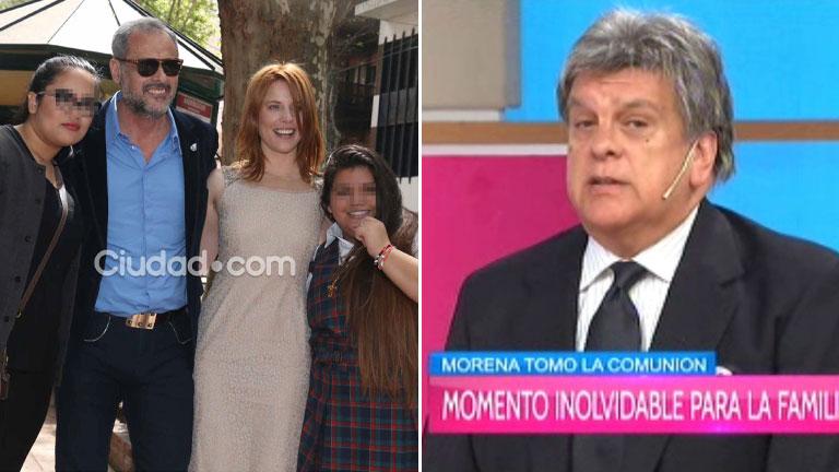 Luis Ventura y su ausencia en la comunión de Morena Rial: