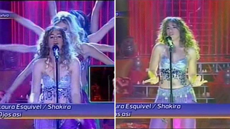 Laurita Esquivel sacudió las caderas como Shakira en Tu cara me suena