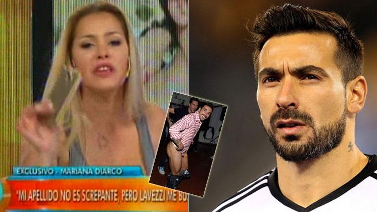 El representante de Lavezzi confirmó que el Pocho llevó a la Justicia a Mariana Diarco por difundir fotos íntimas suyas: